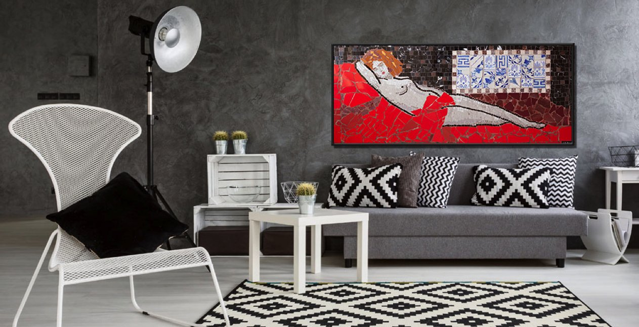 Interior Design Resolutions You Should Make In 2019 Mosaics Lab Contemporary Mosaic Art Custom Mosaic Artwork Mosaic Tiles