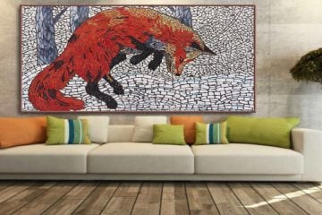 Handmade Mosaics Art _ Mosaic Artwork _ Custom Tile Mosaic Designs