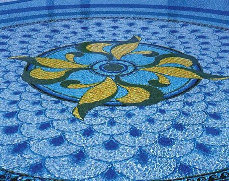 Pool Mosaic Design
