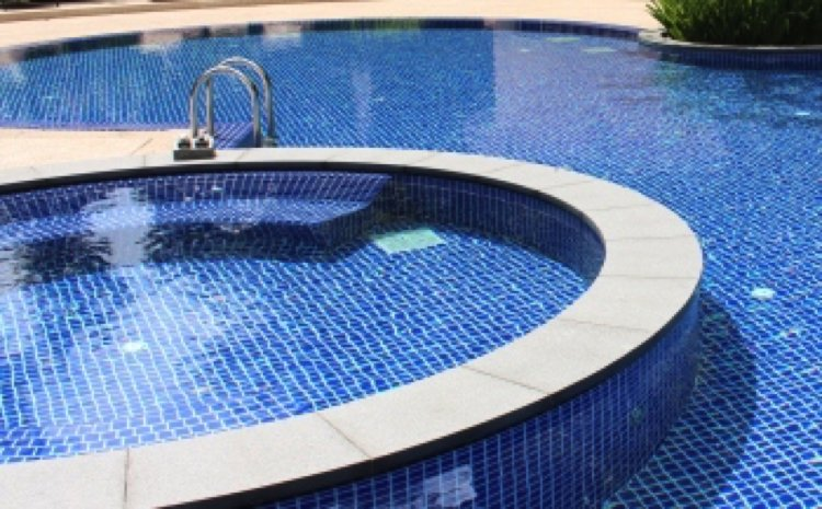Porcelain Tiles Mosaic Swimming Pool
