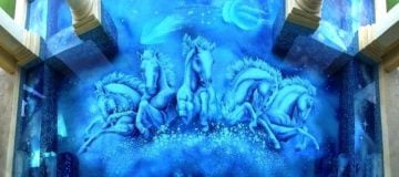 Mosaic Artwork for Swimming Pools