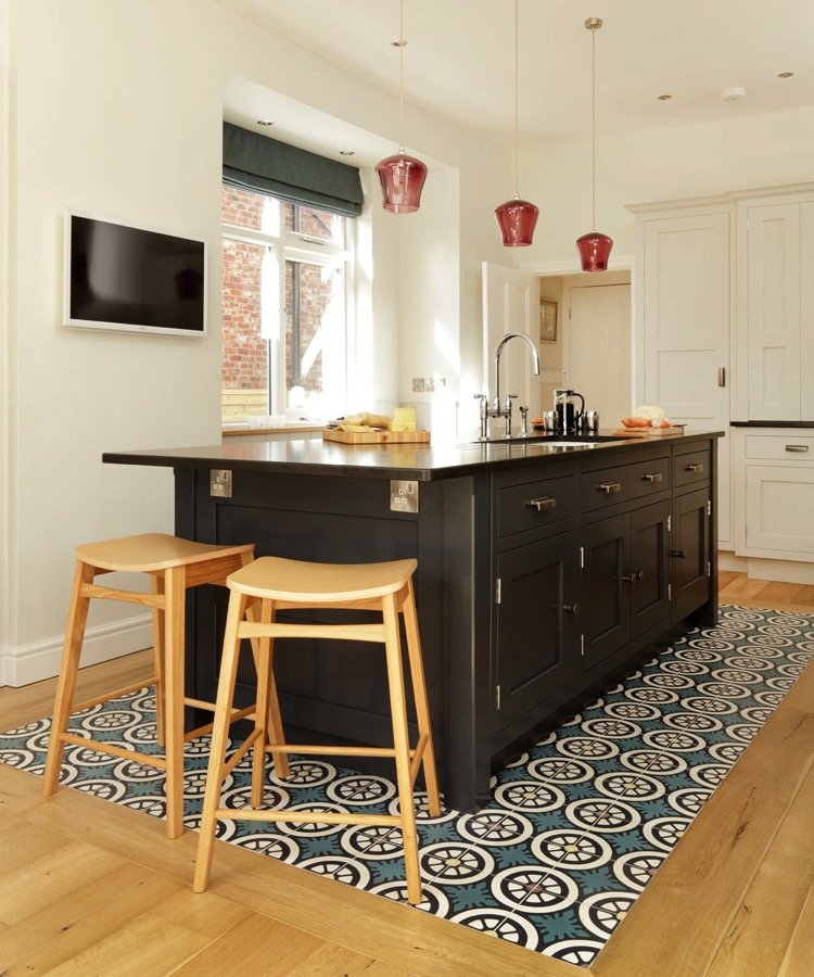 Kitchen tile mosaic patterns add depth to your space
