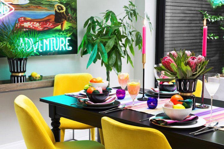 Through creative Interior designing you can create an overall color tone for the space.