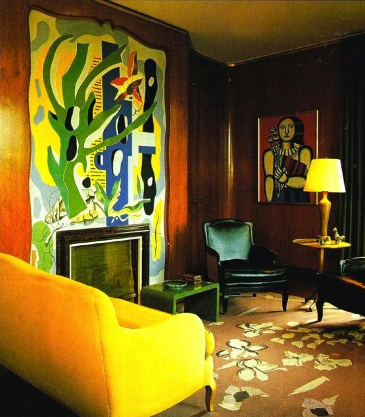 Mellow yellow color surges a room with positive energy