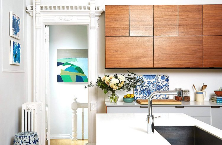 Home art accents in a kitchen can make it stand out
