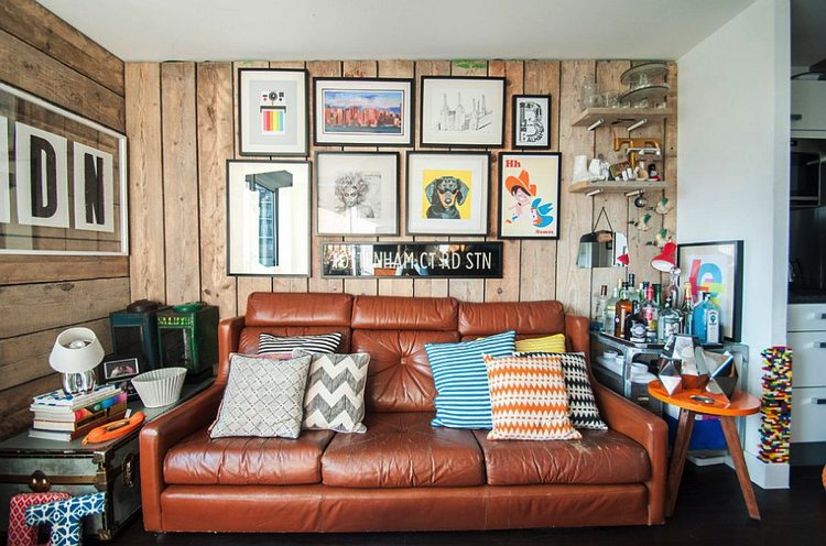 The perfect eclectic home interior room with a perfect layout.