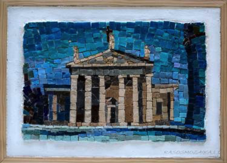 Architecture Mosaic Artwork