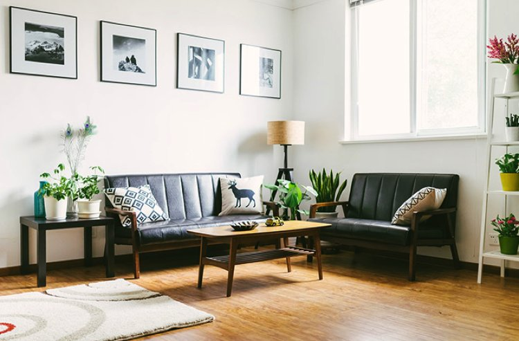 A Living Room designed with Feng Shui in mind.