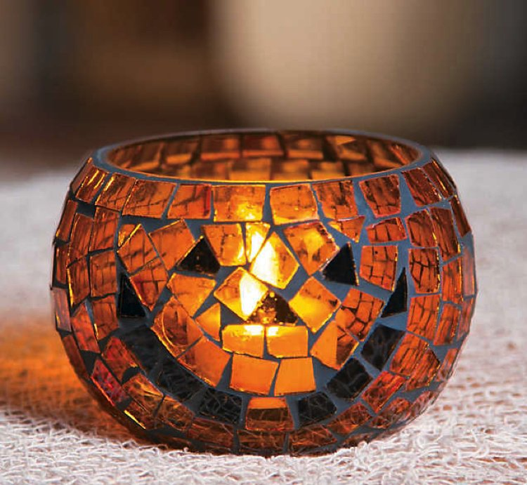 Beautiful alternative to the classic pumpkin lantern.