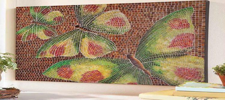 Mosaic Home Accent, Tile Mosaic Artwork, Mosaic Designs, Handmade Mosaic Art