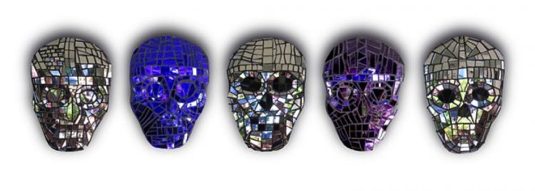 Halloween Mosaic Designs, Mosaic Artwork