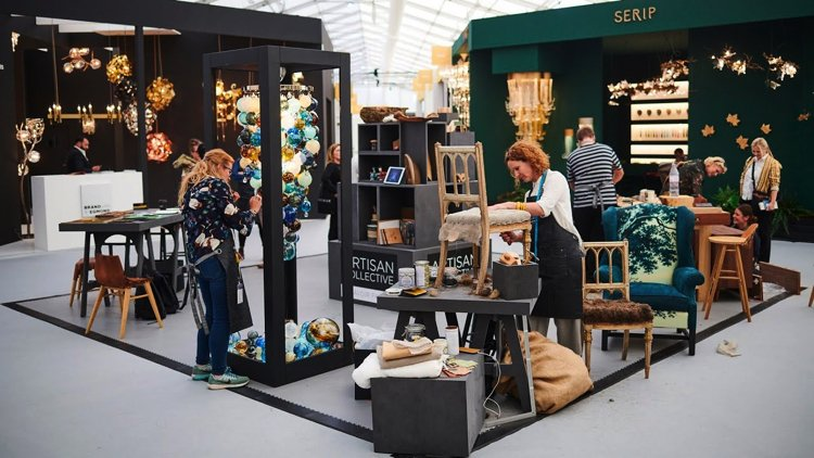 Gorgeous upholstery and home accents at Decorex 2019