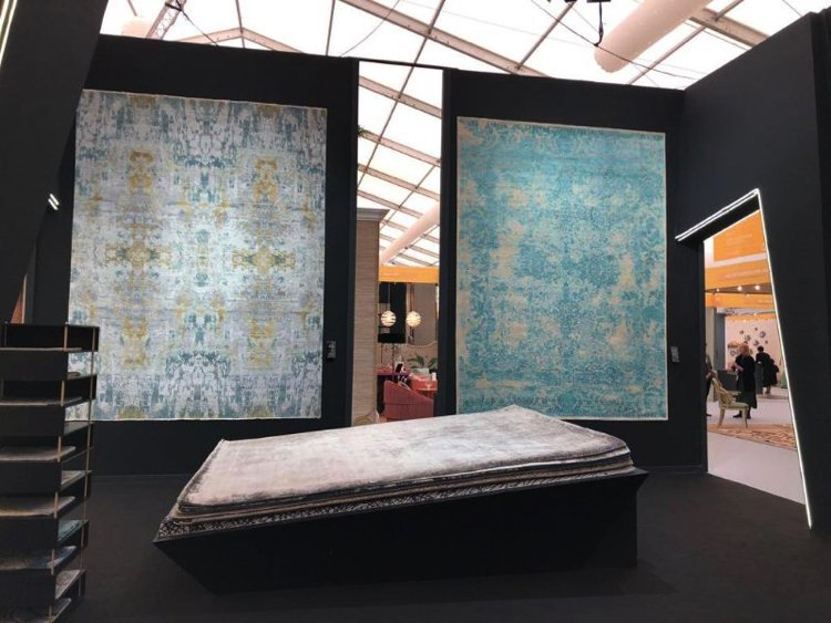 Fabulous natural textured textiles are the latest trend coming out of Decorex 2019
