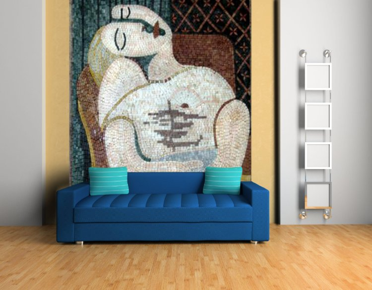 Picasso mosaic reproduction… Mosaics Artwork — Copyright © Mosaics Lab
