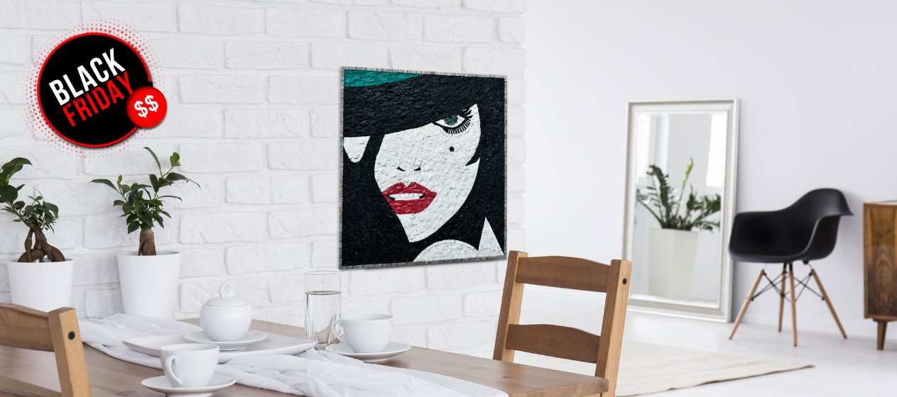 Sophisticate your home on a budget with Mosaics Lab Black Friday promos!