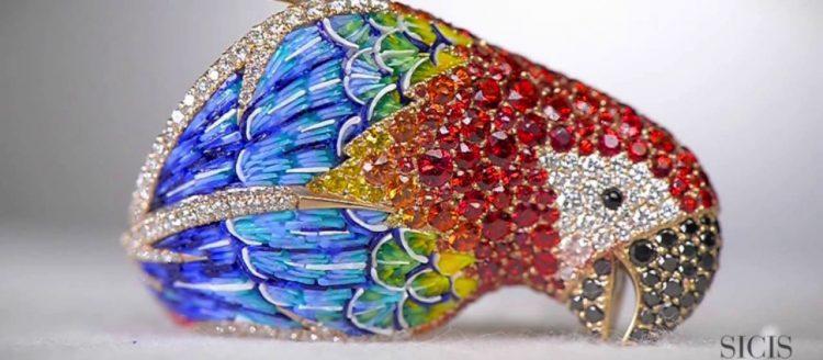 Mosaic Jewelry; Micro Mosaic Jewelry; Mosaic Art