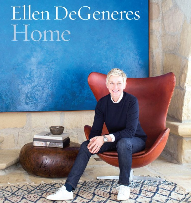 Ellen DeGeneres interior design book.