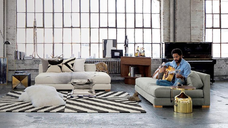Lenny Kravitz designed space