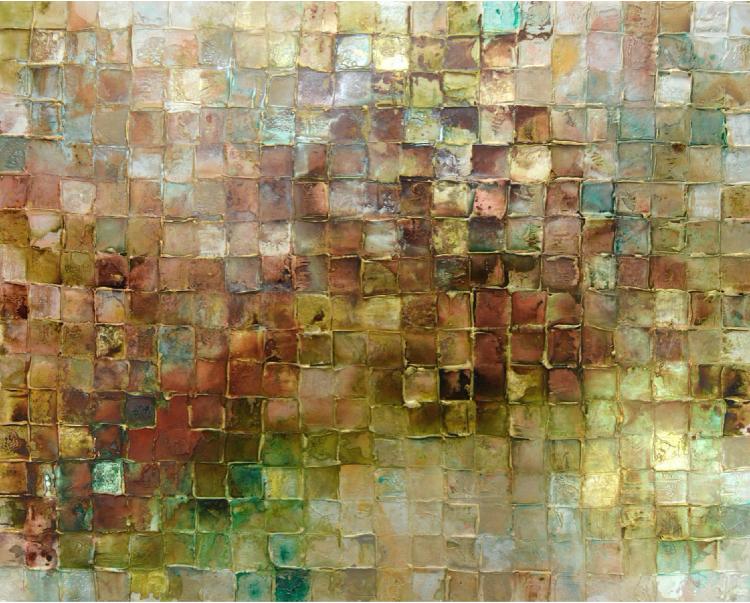 Stunning texture mosaic artwork