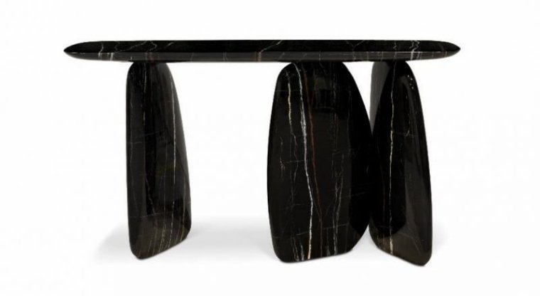 Gorgeous stone table complement home design