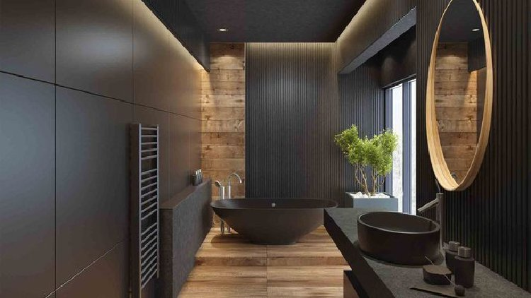 Dark minimalist with a beautiful zen interiors