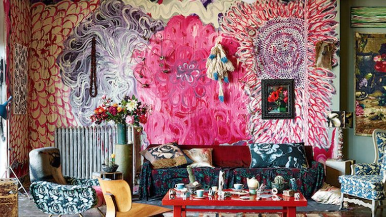 Colorful Maximalism Interior Design