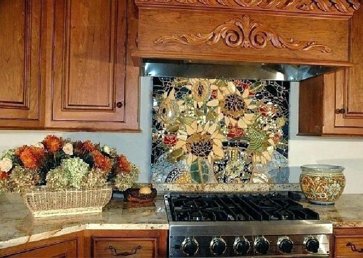 Gorgeous Kitchen Mosaic Backsplash | Mosaics Lab