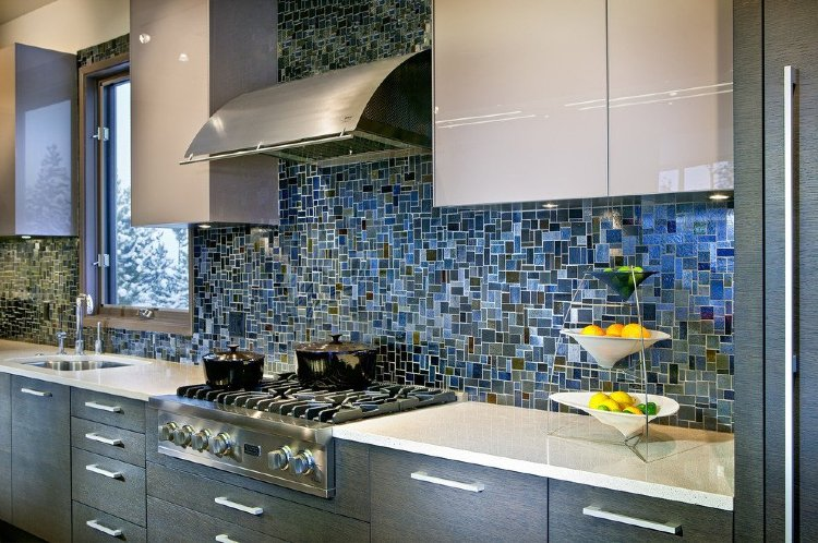 Kitchen mosaic backsplash | Mosaics Lab