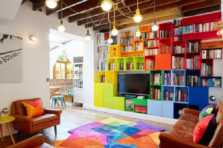 Gorgeous colorful interiors | Mosaics Lab
