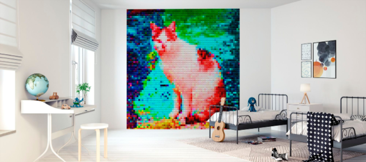 Magical children's mosaic artworks that will charm you