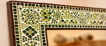 Handmade Mosaic Artwork, Custom Mosaic Art, Mosaic Borders