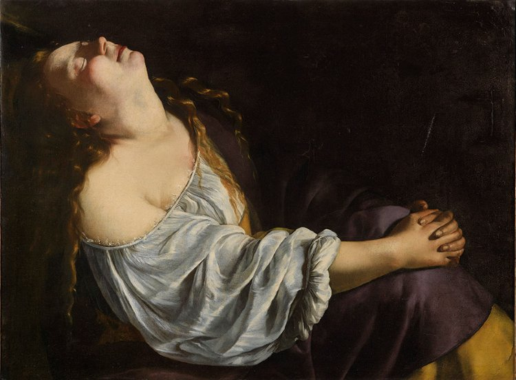Artemisia Gentileschi beautiful classic artwork depicting womanhood.