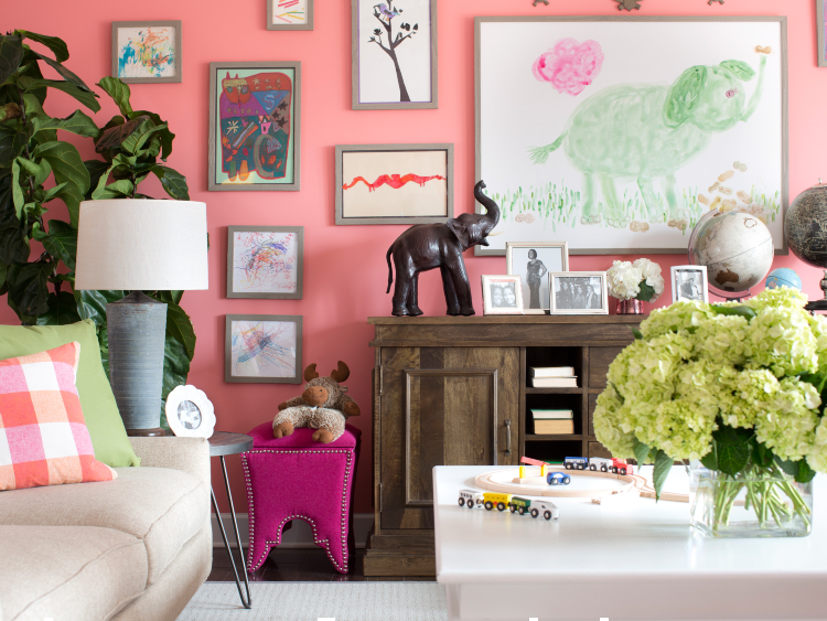 Freshen up your walls with beautiful vibrant colors