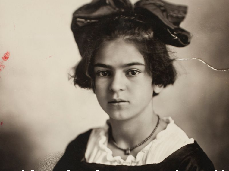 A real portrait of Frida