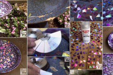Handmade Mosaic Artwork DIY