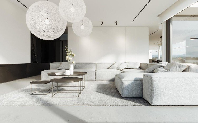 Minimal living room design