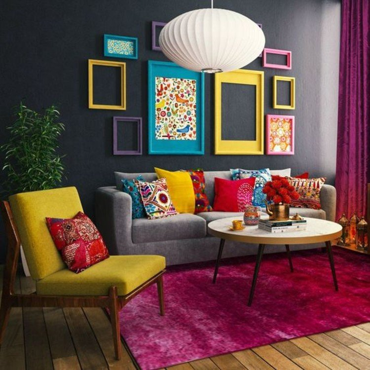 Colors make a gorgeous maximal design