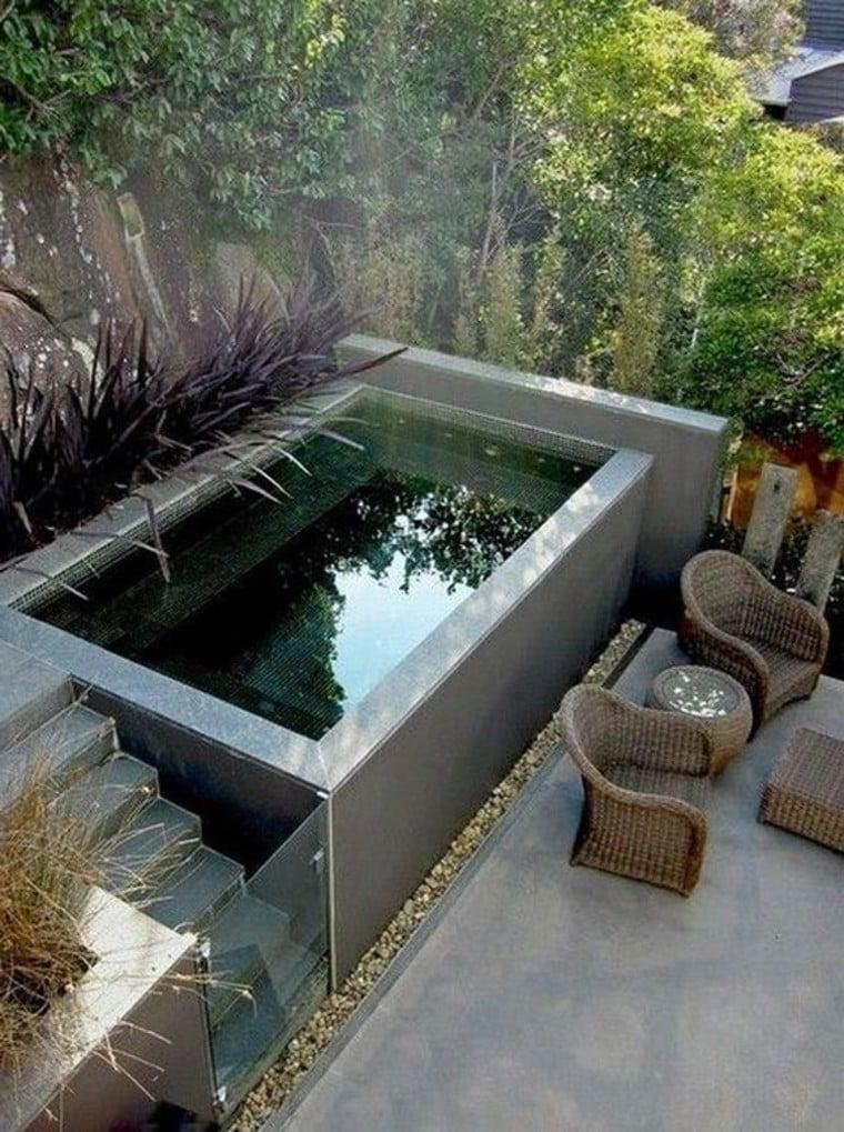 Dark pool tiles mosaic artwork