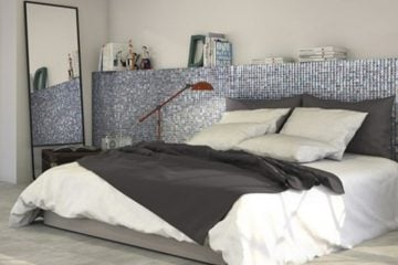 Bedroom Mosaics Artwork