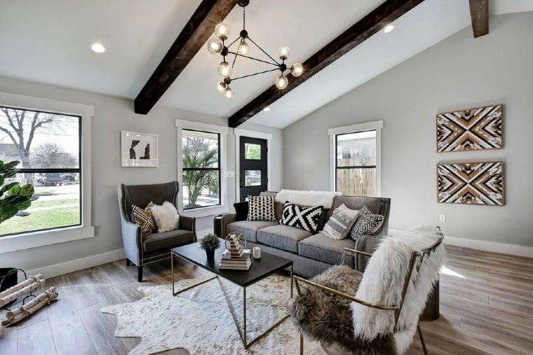 Beautiful Eclectic interior design.
