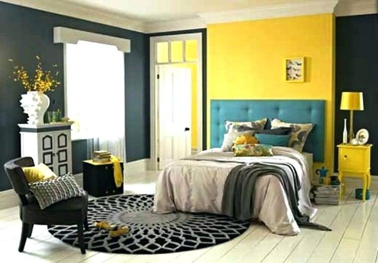 Beautiful four color palette interior design.