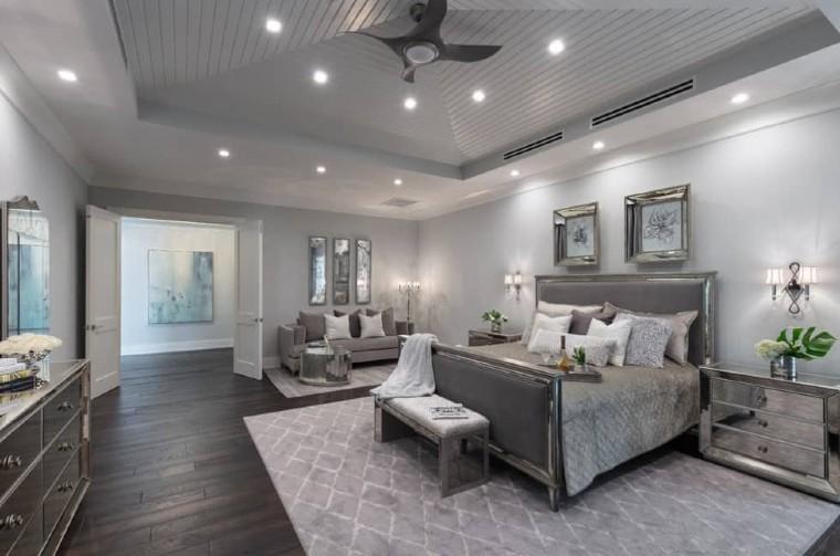 Classy silver grey interiors