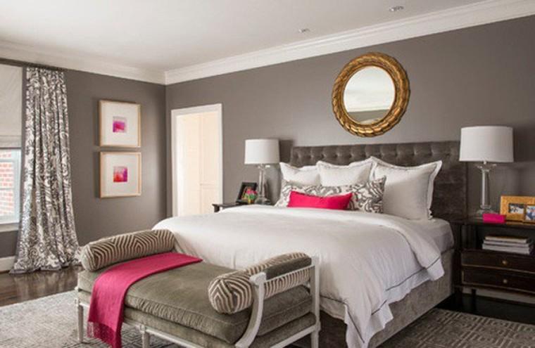 Elegant and simple interiors.