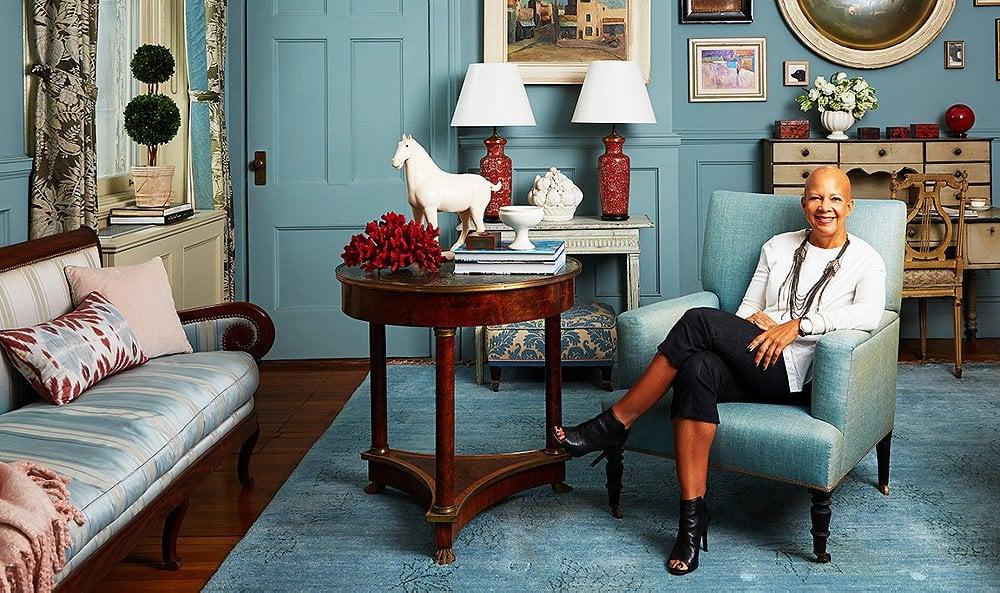 Sheila Bridges, a true interior design inspiration.