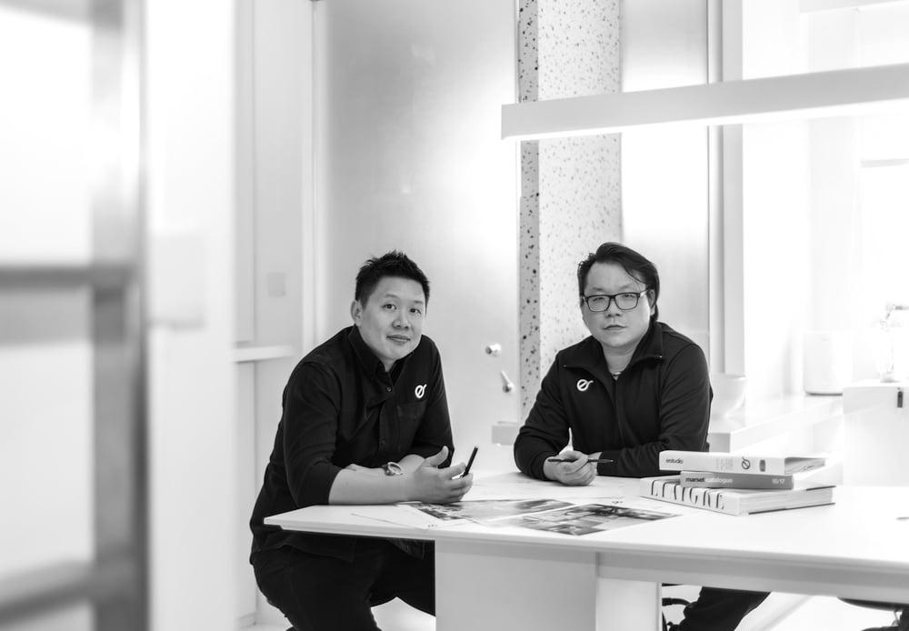 Eloycois Er and Hans Chua from Er Studio.