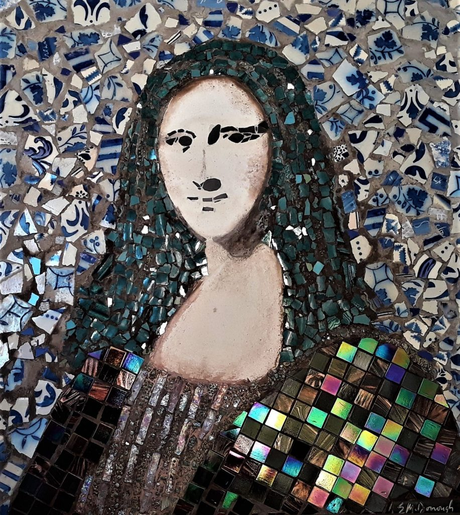 Mosaic design by Eileen McDonough. Mosaic Art inspiration by Mosaics Lab