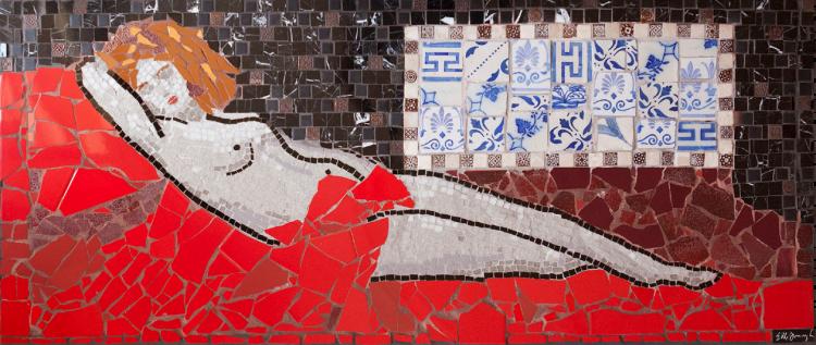 mosaic artwork, Mosaic art, custom mosaic mural