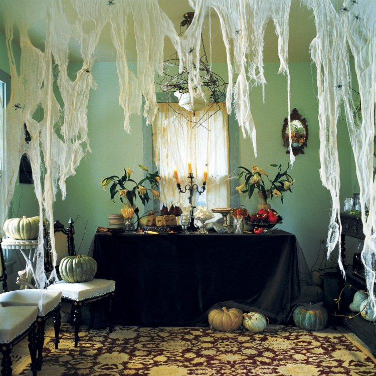 Stylish and scary home decor.