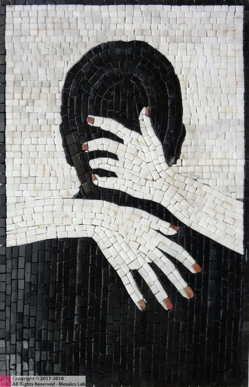 Seduction Mosaic Artwork by Mosaics Lab