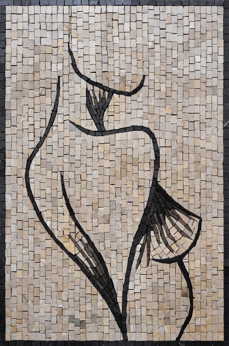 Abstract Mosaic Mural by Mosaics Lab
